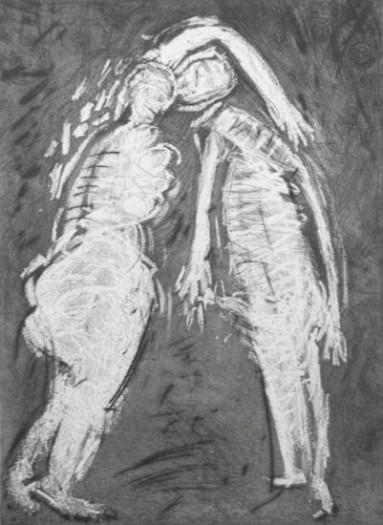 Adolf Frohner, 2 Körper Verbinden ohne Grund