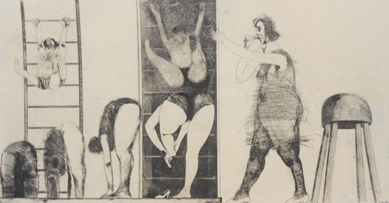 Adolf Frohner, Die Gymnastikstunde