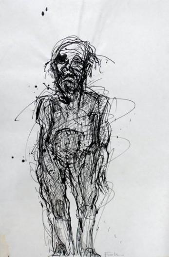 Adolf Frohner, Einsamer Mann