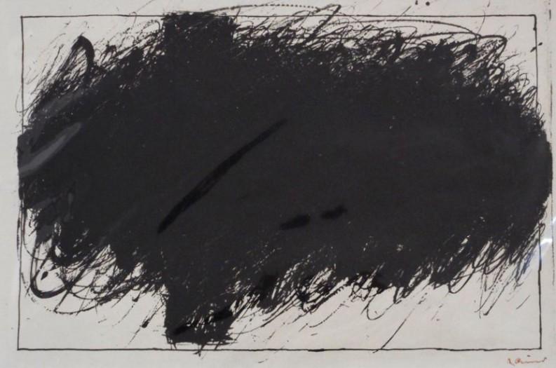 Arnulf Rainer, Übermaltes Kreuz