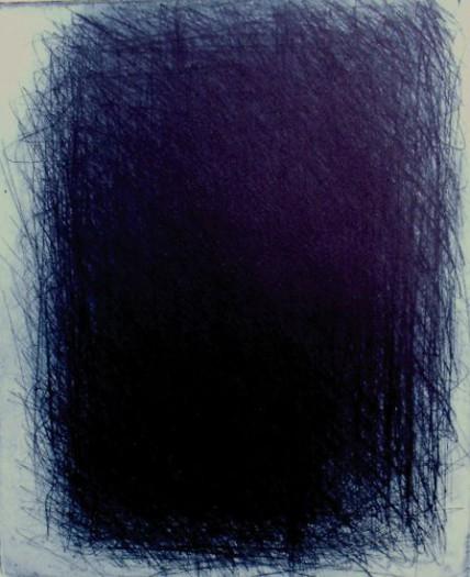 Arnulf Rainer, Fenster in der Nacht