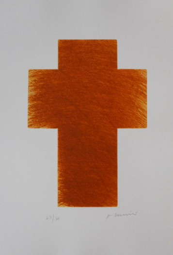 Arnulf Rainer, Kreuz feldbraun