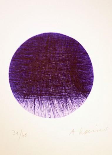Arnulf Rainer, Lila Mond