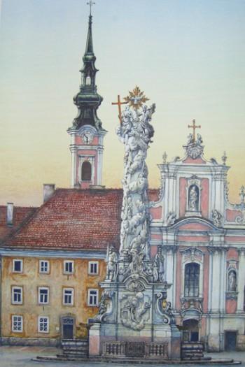 Karl Goldammer, Franziskanerkirche