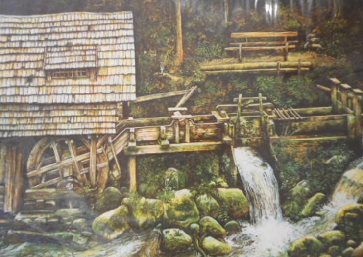 Karl Goldammer, Mühle