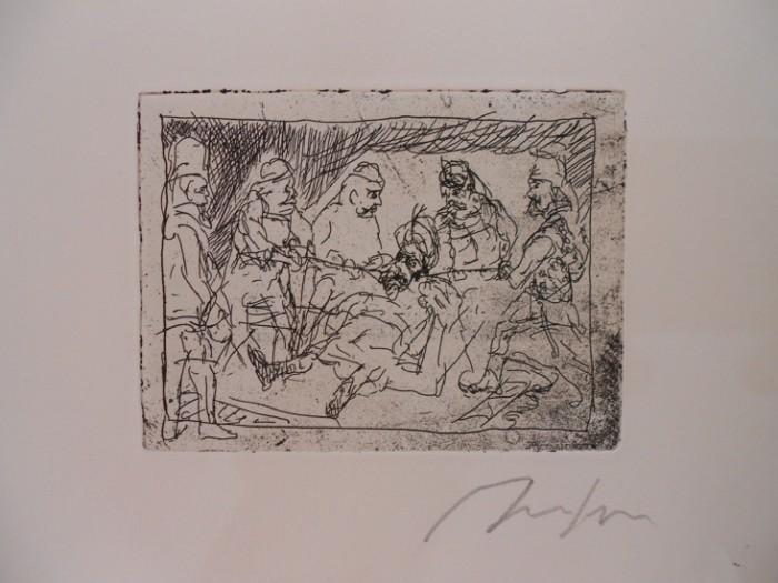 Alfred Hrdlicka, Die seidene Schnur