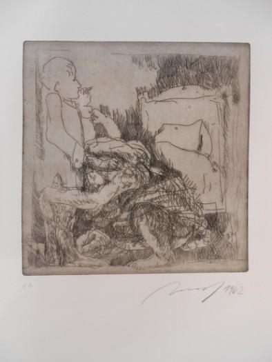 Alfred Hrdlicka, Marthas große Leidenschaft