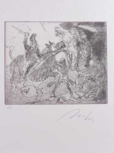 Alfred Hrdlicka, Revolution 1848 - Massaker auf der Jesuitenwiese