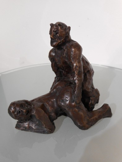 Alfred Hrdlicka, Nymphe und Satyr II