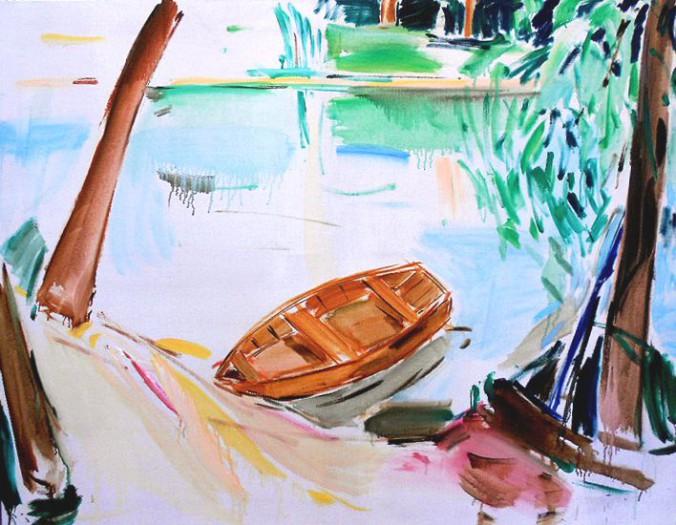 Bruckner-Mikl, Am Wasser