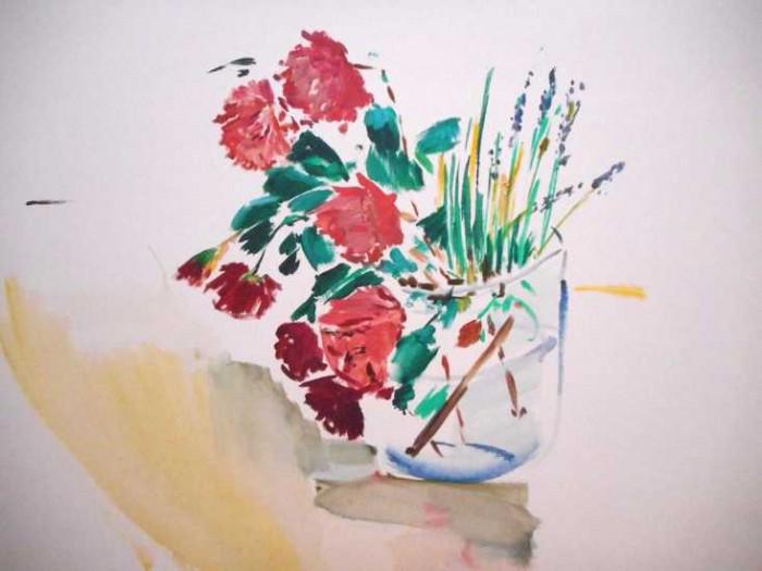 Bruckner-Mikl, Rosen und Lavendel