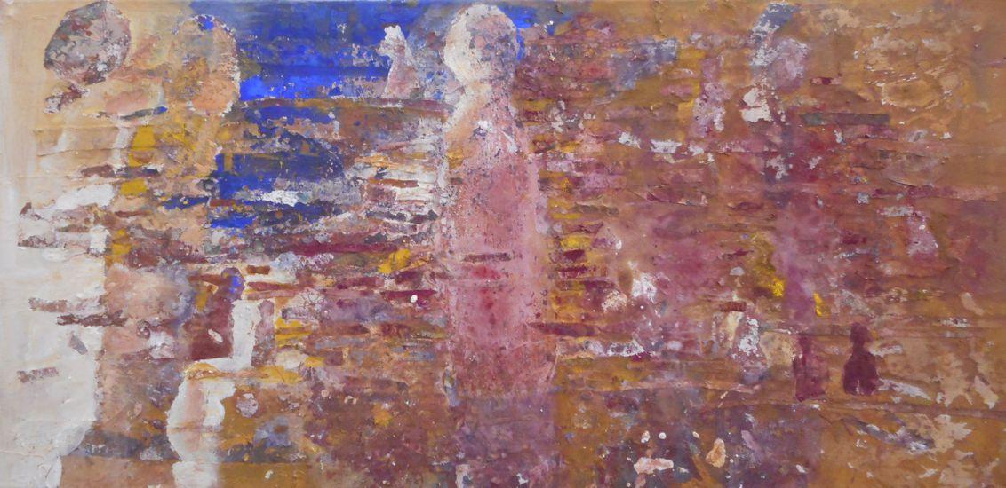 Walter Maringer, In weiter Ferne, 50x100