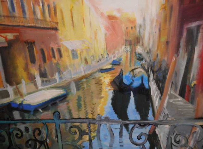 Lechner Martina, Spaziergang in Venedig