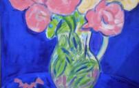 Bruckner Theresa, Rosen im Glaskrug