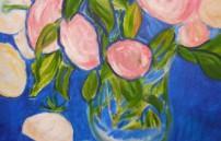 Bruckner Theresa, Rosen und rosa Tuch