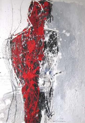 Anton Zacsek, Schattenfigur rot