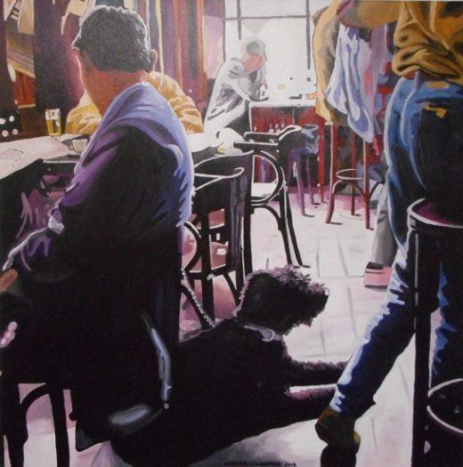 Karner Erich, Café Amsterdam