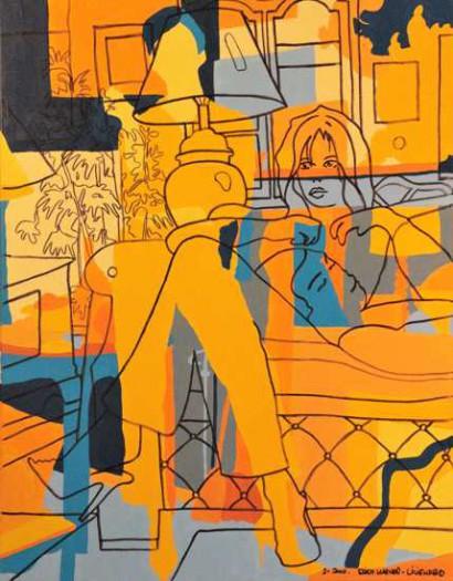 Karner-Lilienfeld, Erich, On the sofa
