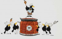Michael Ferner, Kitchen Crow