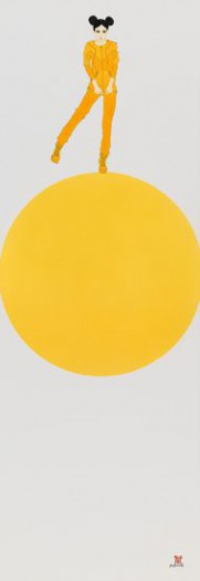Michael Ferner, Girl on a yellow ballon