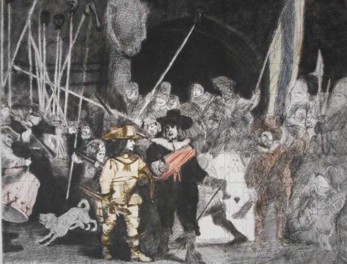Alfred Hrdlicka, Die Nachtwache
