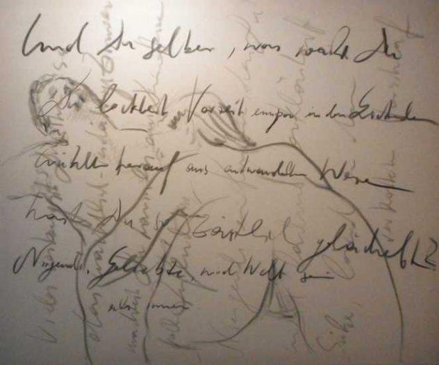 Widmann, Lernen mit Lou, Zyklus Rilke