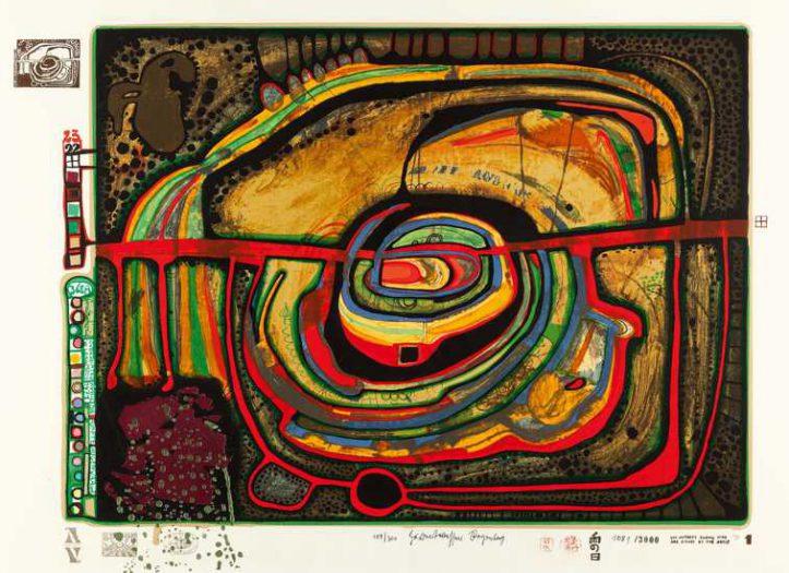 Friedensreich Hundertwasser, Die fünfte Augenwaage 368A