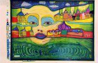 Friedensreich Hundertwasser, Irinaland über den Balkan 691A