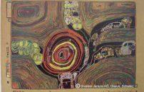 Friedensreich Hundertwasser, Kreisverkehr der Straßengekreuzigten 701A