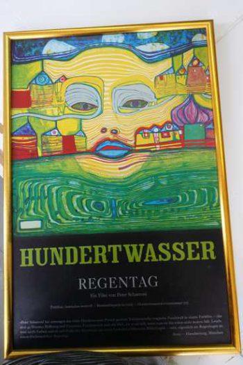 Friedensreich Hundertwasser, Plakat zu Hundertwasser Film