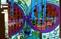 Friedensreich Hundertwasser, Regen auf Regentag 676A