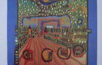 Friedensreich Hundertwasser, Die Straße der Überlebenden 553A