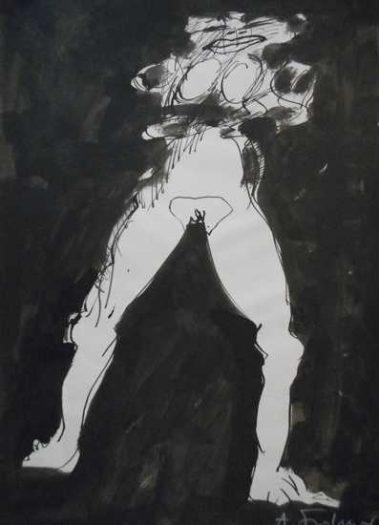 Adolf Frohner, Akt