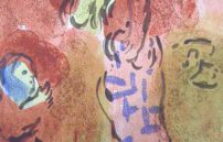 Chagall Marc, Ährenleserin Ruth