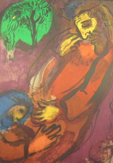 Chagall Marc, David und Absolon