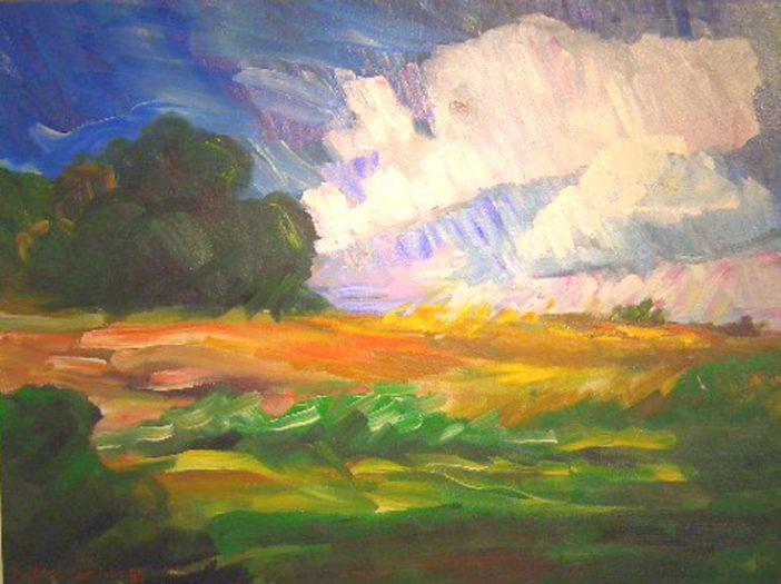 Chasham Diana, Bewegte Landschaft