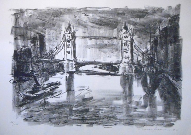 Fronius Hans, Tower Bridge