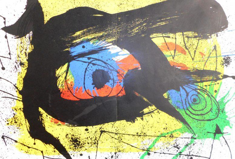 Miro Juan, Derriere le Mirroir, Schwarzes Auge