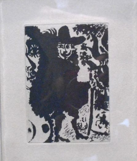 Pablo Picasso, Aus La Celestine,
