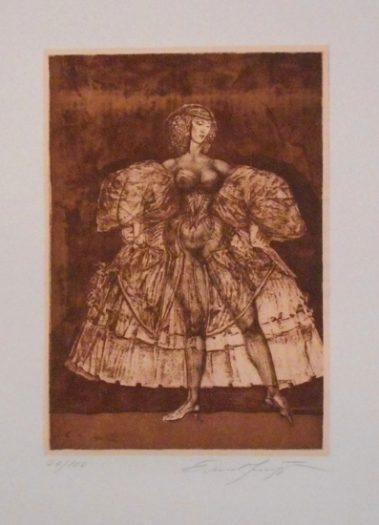 Ernst Fuchs, Gulietta I