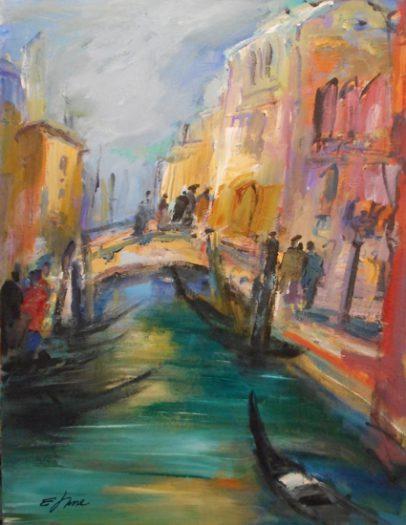 Hettl Eleonore, Abend in Venedig