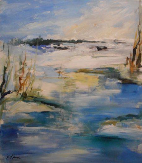 Hettl Eleonore, An der Thaya - Winter