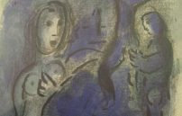 Chagall Marc, Rahab und die Kundschafter in Jericho
