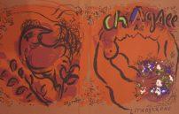 Chagall Marc, Ein blauer Fisch Ohne Titel