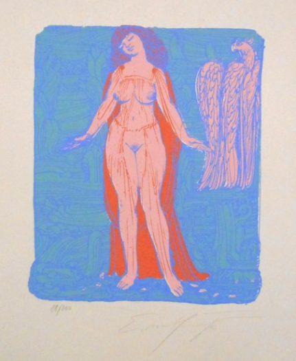Ernst Fuchs, ohne Titel