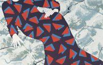 Kiki Kogelnik, Lady with Triangles