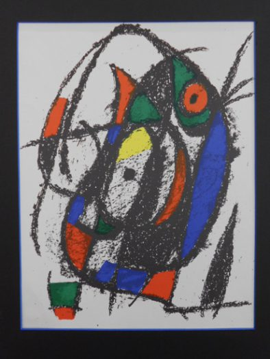 Miro Jean, Litografia original III/II