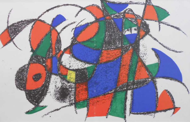 Miro Jean, Litografia original IV+III