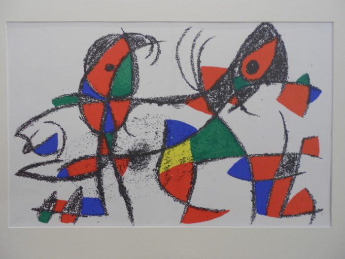 Miro Jean, Litografia original X