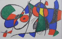 Miro Jean, Litografia original VIII